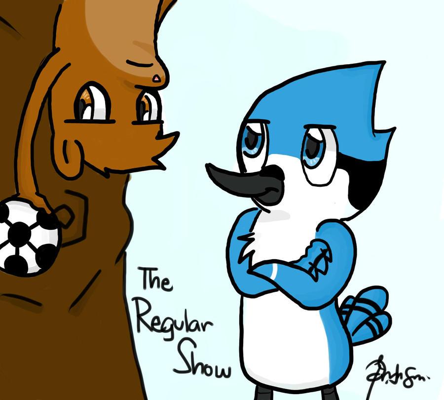 regular show:soccer by JellyMonstah