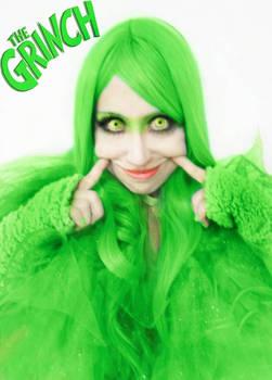 Grinch Cosplay Girl