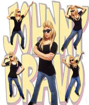Johnny Bravo girl cosplay