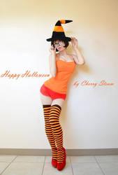 Velma Cosplay Happy Halloween by CherrySteam