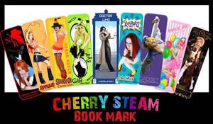 Book Mark Cherry Steam