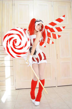 Steampunk Fairy Christmas Candy