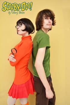 Shaggy and Velma Cosplay