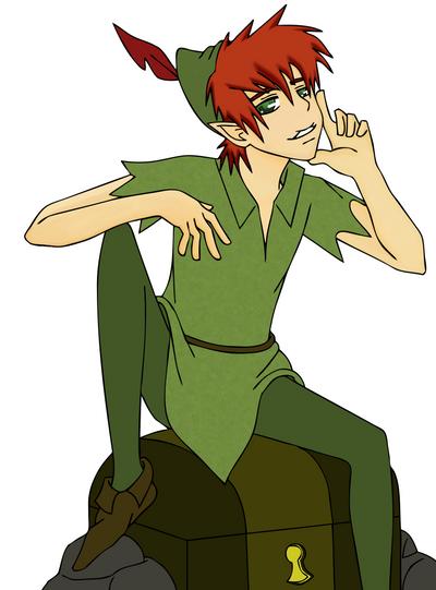 Peter Pan By Kunoichihawaii On Deviantart
