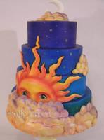 celestial cake by ilexiapsu