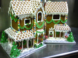 gingerbread house by ilexiapsu
