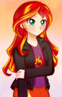 Sunset Shimmer by iyumei