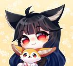 Comm - Fluffy friend