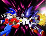 Sonic and Mario VS Metallix