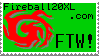 Fireball20xl Deviant Stamp by Fans-of-Fireball