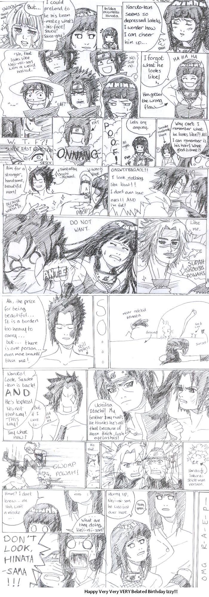 Hinata Horny throughout anti-sasuhina comic for izzytomato-box on deviantart