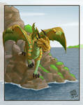 Bronze Dragon from D and D