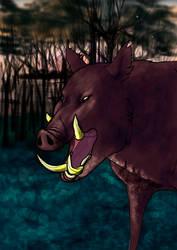 Wilder Boar by Goenkeel
