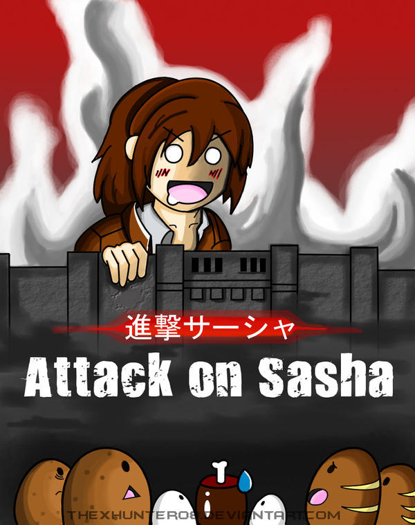 Attack on Sasha (Shingeki no Sasha) by TheXHunter08