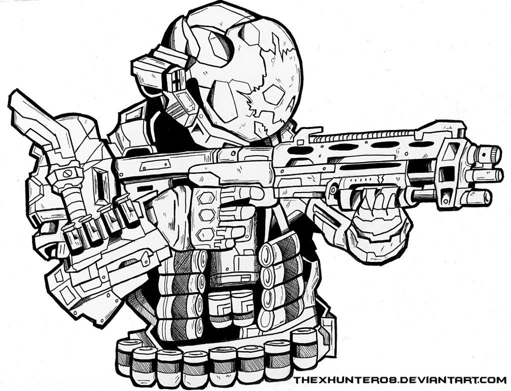 Halo Reach- Emile by TheXHunter08 on DeviantArt