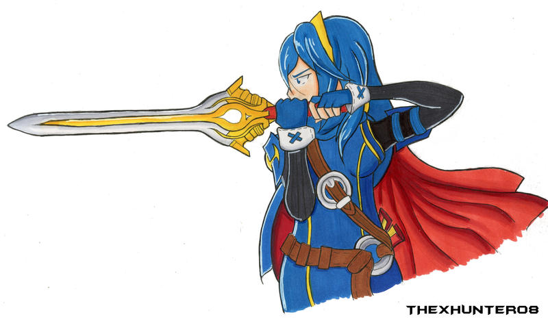 Lucina by TheXHunter08