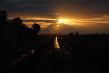 Train station Sunraise
