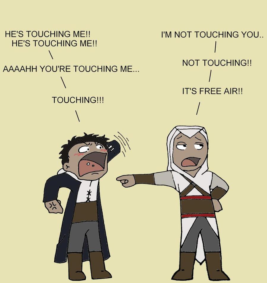 AC: Malik Altair: Touching me by vangberg