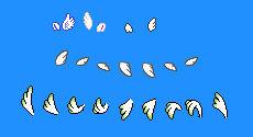 Mario Wing Sprite collection