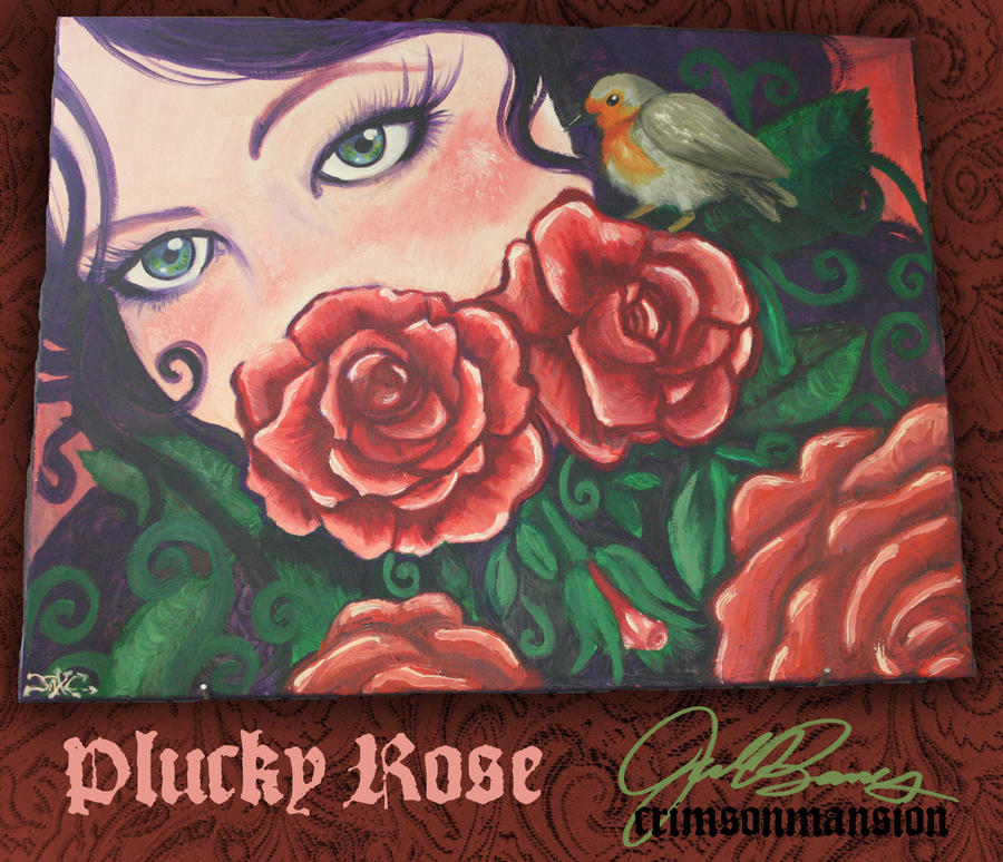 Plucky Rose by crimsonmansion