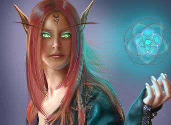 Blood Elf Magic by sweetcivic