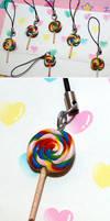 Rainbow Lolli Charm