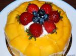 Mango Cake by sweetcivic