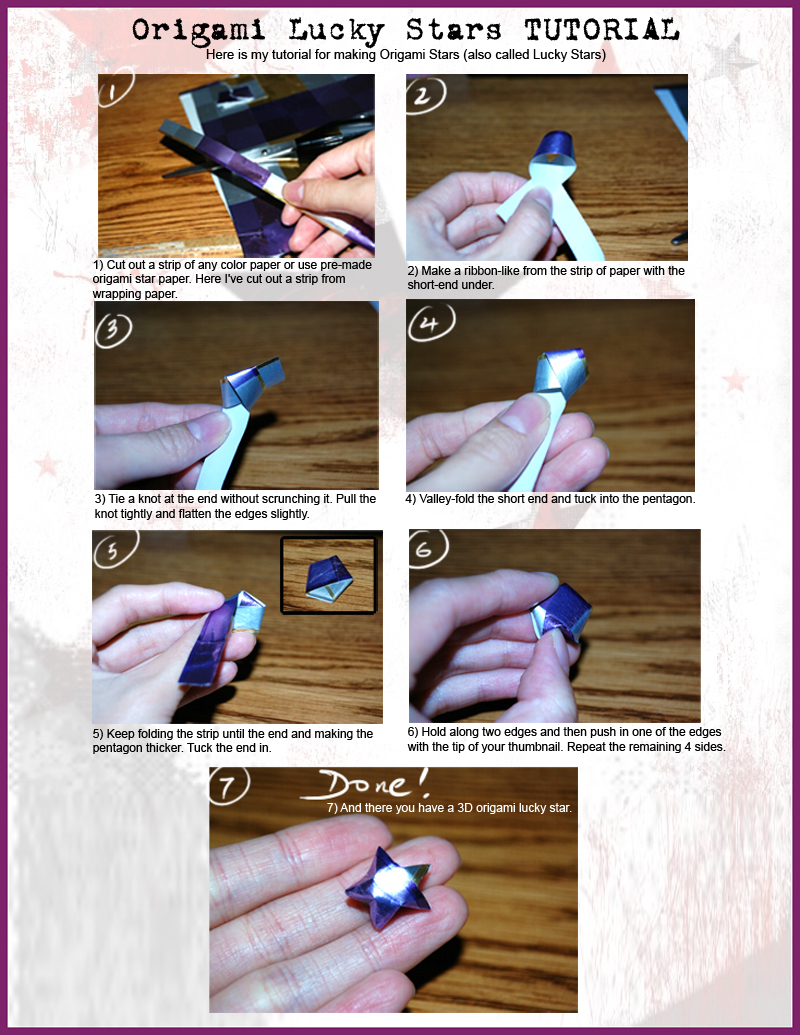 Jens blog of random thoughts tutorial origami lucky stars click on the image below for full size instructions with images jeuxipadfo Choice Image