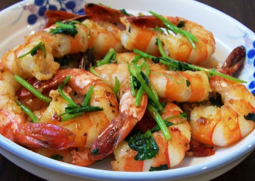 Garlic Butter Shrimp by sweetcivic