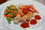 Salsa Baked Chicken