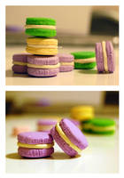 Mini French Macaroon Charms by sweetcivic