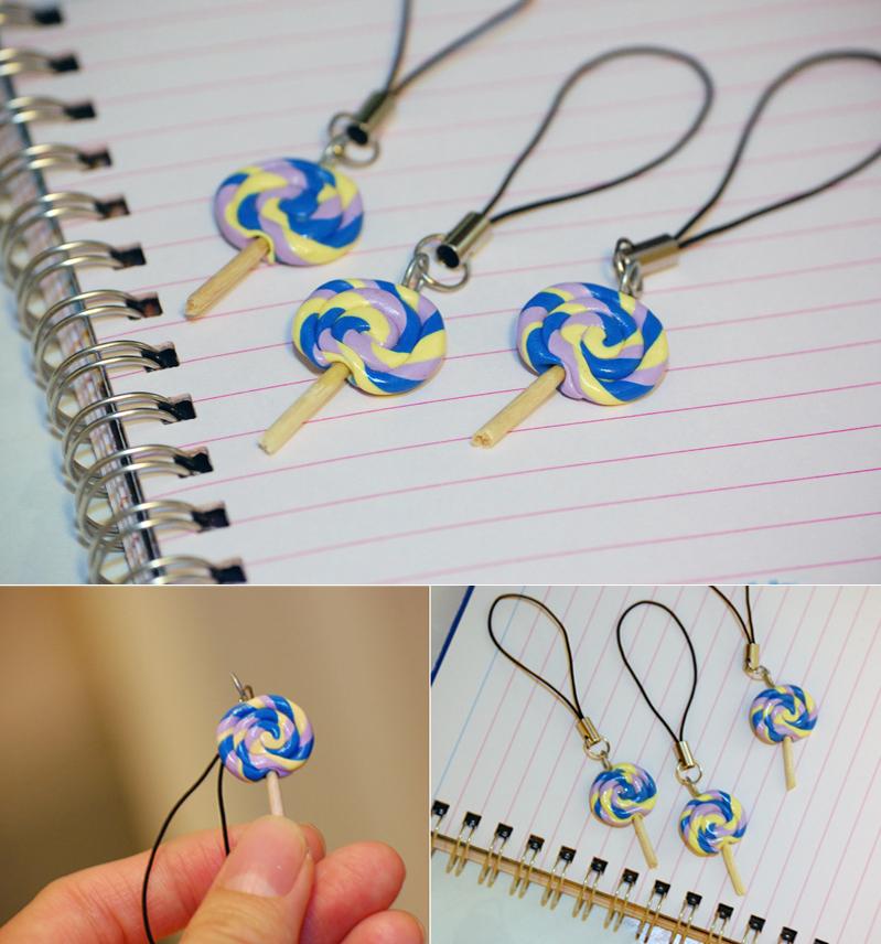 Jen\'s Blog of Random Thoughts: Handmade Creations: Lollipop Charms ...