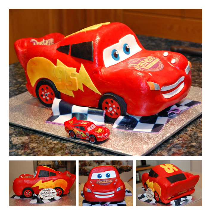 Car Cake Images Download : Lightning McQueen 3D Car Cake by sweetcivic on DeviantArt