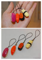 Sushi Charms by sweetcivic