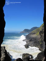 Looking out the Sea Lion Caves by sweetcivic