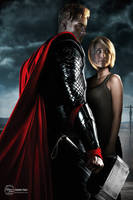 Chlollie-Thor Movie Poster by sweetcivic
