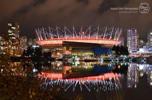 Night Photoshoot: BC Place Stadium by sweetcivic