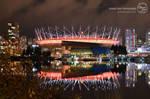 Night Photoshoot: BC Place Stadium