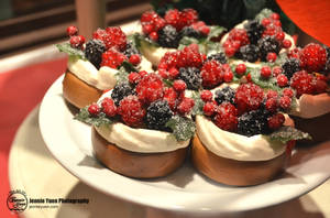 Holiday Berry Tarts by sweetcivic