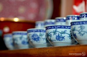 Chinese Tea Cups by sweetcivic