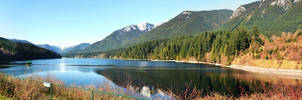 Capilano Lake by sweetcivic