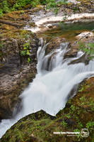 Little Qualicum Falls - Lower falls by sweetcivic