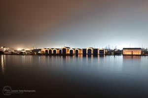 Boathouses by sweetcivic