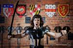 Warrior Photoshoot 8 by sweetcivic