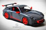 Porsche GT3 RS Toy Model