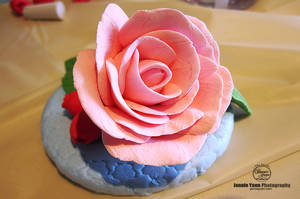 Clay Art Rose