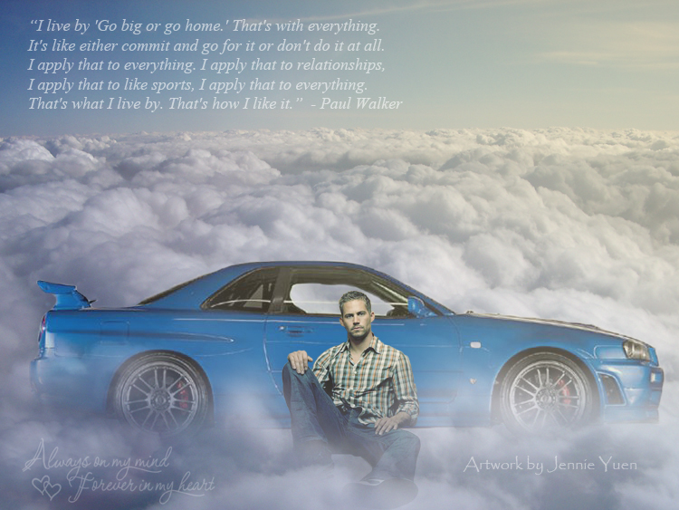 Remembering Paul Walker by sweetcivic