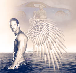 Angel Paul Walker by sweetcivic