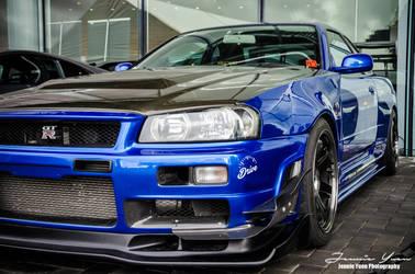Nissan Skyline GTR R34 by sweetcivic