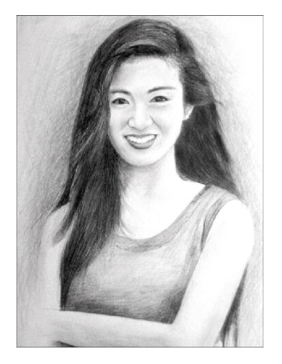 Pencil Sketch of Charlie Yeung by sweetcivic